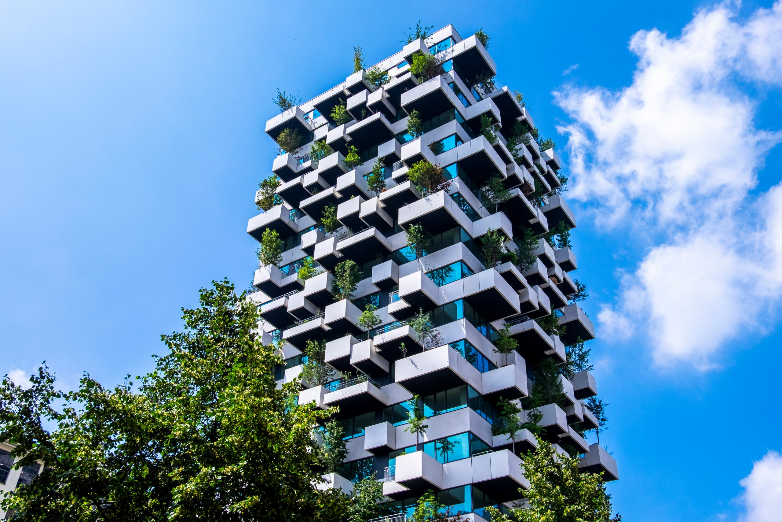 Eindhoven,,The,Netherlands,,June,29th,,2021.,Vertical,Garden,Tower,With
